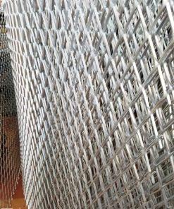 Lưới mắt cáo – Lưới bén hình thoi thép dập từ tấm nguyên